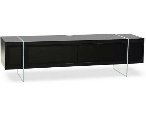 """MDA Designs Space Hybrid Black Cabinet for up to 60\"""" TVs"""