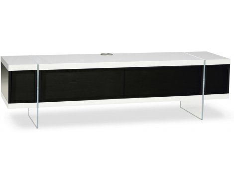 """MDA Designs Space Hybrid White Cabinet for up to 60\"""" TVs"""