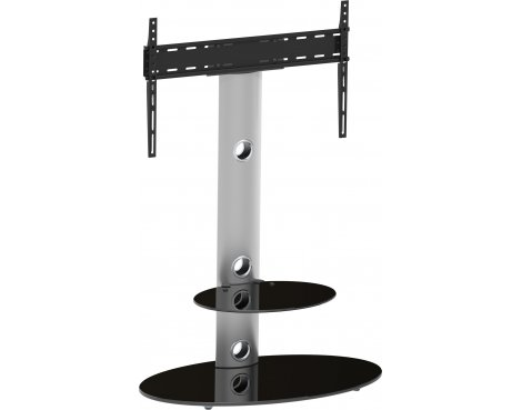 "AVF Lugano Cantilever TV Stand for TVs up to 60"" - Silver"