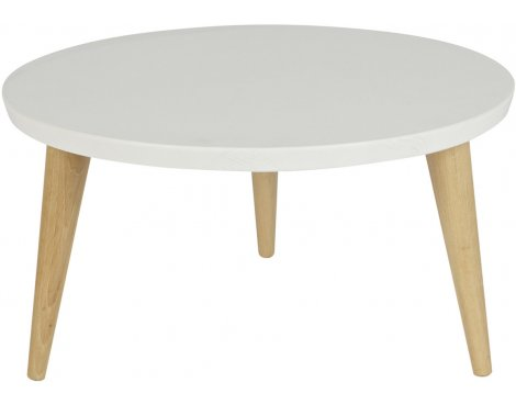 woood elin white pine side table 50cm coffee tables