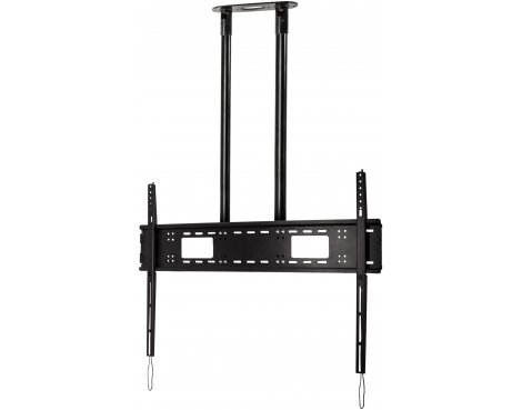 "Btech Extra-Large Flat Screen 2m Ceiling Mount for TVs up to 120"" - Black"