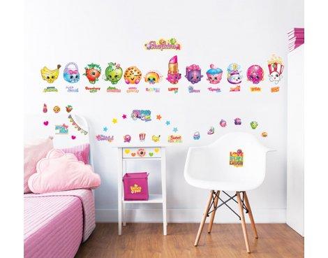 Walltastic Shopkins Wall Stickers