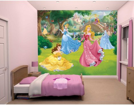 Walltastic Disney Princess 12 Piece Mural
