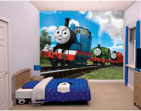 Walltastic Thomas and Friends 12 Piece Mural