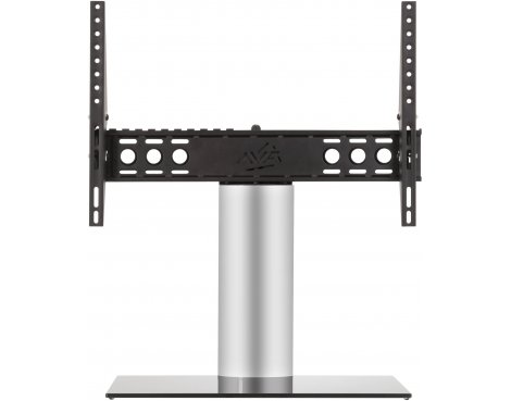 "AVF Adjustable Tilt and Turn Table Top Stand For Upto 65\"" TVs - Black & Silver"