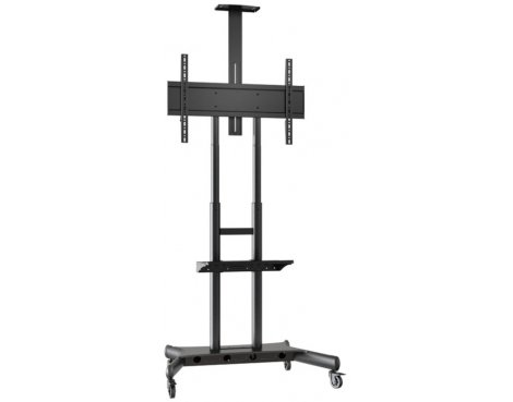 "Multibrackets M Public Floorstand for up to 80"" Screens - Removable Shelf and Camera Holder Included"