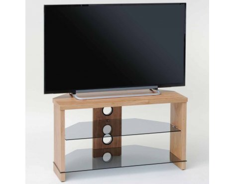 """TNW Montreal Oak TV Stand for up to 50\"""" TVs"""