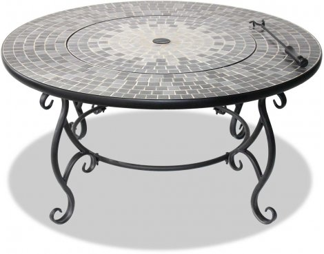 Centurion Supports Ginessa Multi-Functional Fire Pit