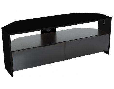 "AVF Reflections Saunton Corner TV Stand For Up To 60"" - Black"
