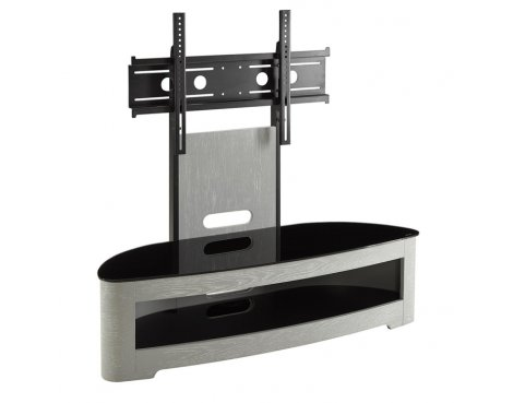 Jual JF209 Grey Oval TV Stand With Bracket