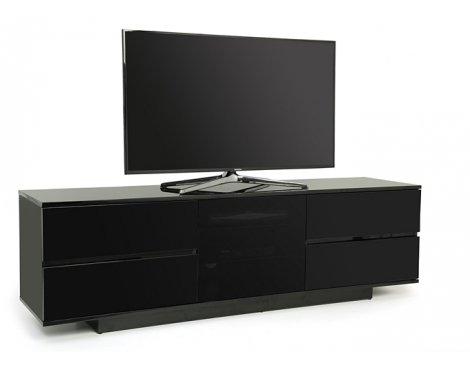 """MDA Avitus Ultra Gloss Black TV Cabinet For 65\"""" TV\'s"""