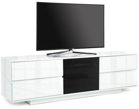 """MDA Avitus Ultra White TV Cabinet For 65\"""" TV\'s"""