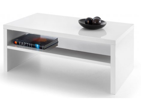 Mason and Bailey Granada White High Gloss Coffee Table
