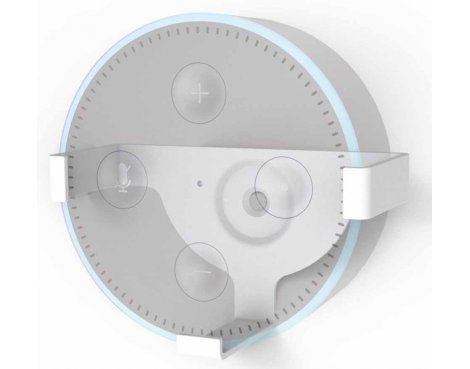 ValuConnect Wall Bracket for Amazon Echo Dot - White