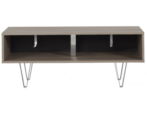 """Off The Wall Oak Chevron 1100 Oak TV Stand for up to 50\"""""""