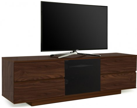 "MDA Avitus Ultra Gloss Walnut TV Cabinet For 65"" TV\'s"