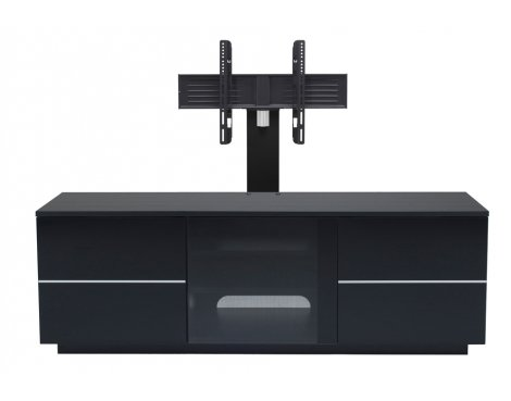 """UKCF New London Black TV Stand with Bracket For up to 65\"""" TVs"""