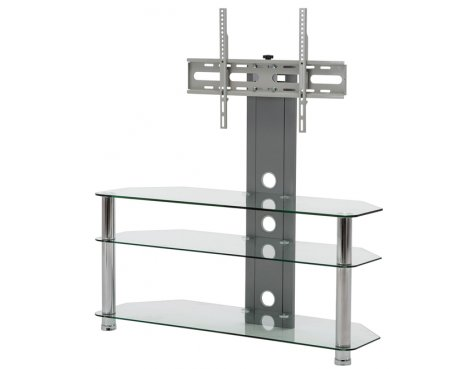 MMT CC60 Clear Cantilever TV Stand
