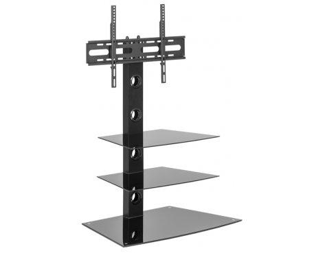 MMT CB55 Black Swivel Cantilever TV Stand