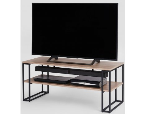 Off The Wall Oak Cube 1100 Oak TV Stand for up to 50""