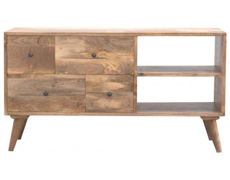 """Mason and Bailey 4 Drawer Media Unit TV Stand for up to 55\"""" TVs"""