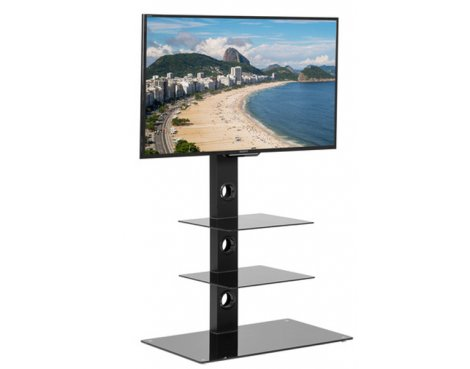 MMT CBM23 Black Cantilever TV Stand for TVs up to 55""