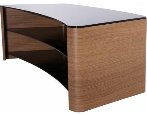 "TNW Milan Oak 1300mm Curved TV Stand for up to 60"" TVs"