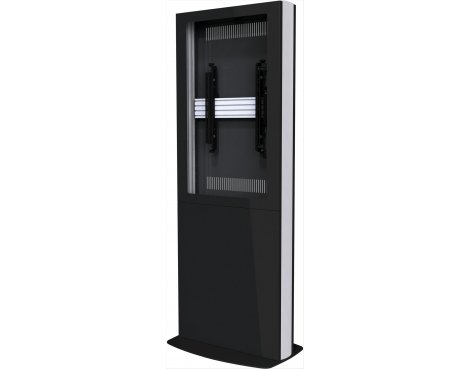 "Single Screen Portrait Digital Signage Kiosk for 55\"" Screens - Black"