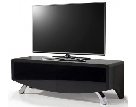 """MDA Wave 1200 Hybrid TV Stand For Up To 60\"""" - Black"""