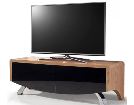 """MDA Wave 1200 Hybrid TV Stand For Up To 60\"""" - Oak"""
