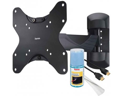 Hama All in One Full Motion TV Wall Bracket with Free Accessories