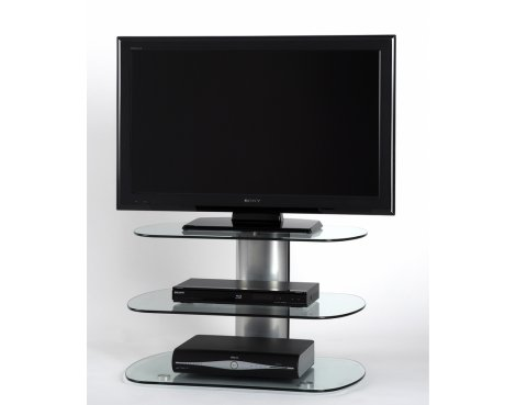 "Off The Wall SKY 800 SIL Skyline TV Stand for up to 40"" - Silver"