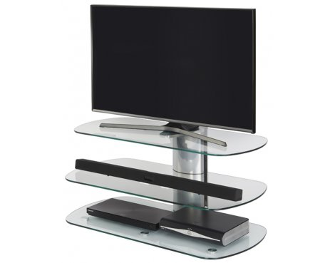 "Off The Wall SKY 1000 SIL Skyline TV Stand for up to 50"" - Silver"