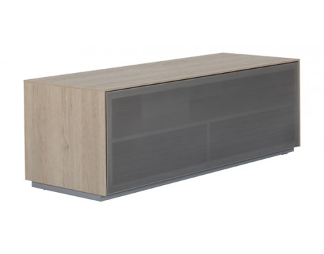 """Off The Wall Outline TV Stand Fully Assembled for up to 55\"""" - Oak"""
