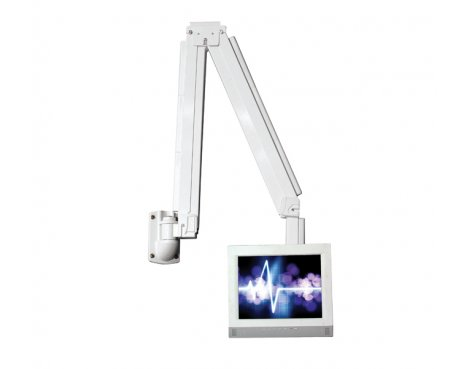 B-Tech Full Motion Articulating Wall Arm Medical Mount