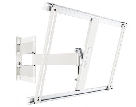 """Vogel\'s THIN 545 Extra Thin Full-Motion Wall Bracket for 40\"""" to 65\"""" - White"""