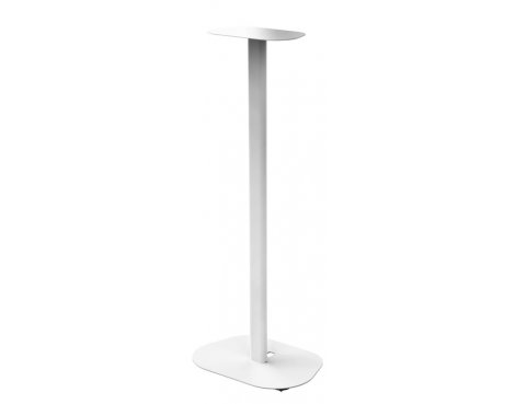Hama Universal Speaker Stand with Exchangeable Storage Plates - White