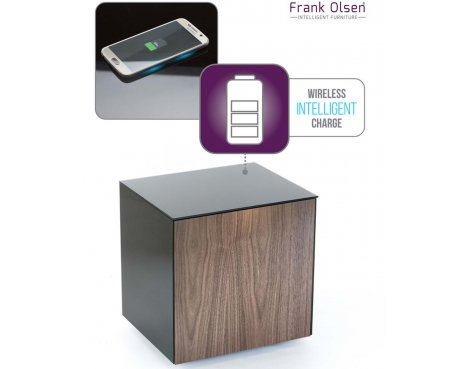 Frank Olsen Intel Black and Walnut Lamp Table