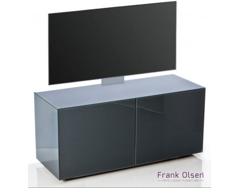 "Frank Olsen INTEL1100 Grey Cantilever TV Cabinet For TVs Up To 55\"""