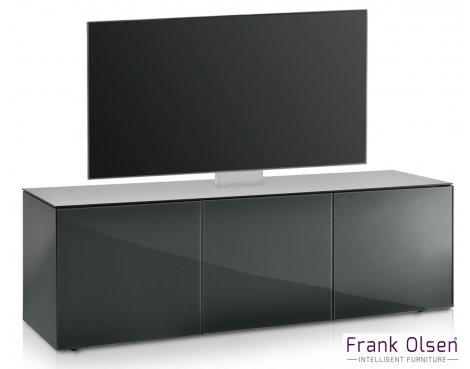 Frank Olsen INTEL1500 Grey Cantilever TV Cabinet For TVs Up To 60""