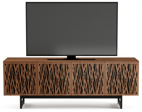 """BDI Elements 8779 Wheat TV Stand For Up To 80\"""" TV\'s - Walnut"""