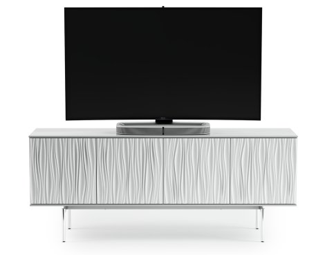 "BDI Tanami 7109 TV Stand For Up To 80"" - Satin White"