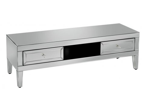 """Mason and Bailey Girona Mirrored TV Stand for up to 50\"""" TVs"""
