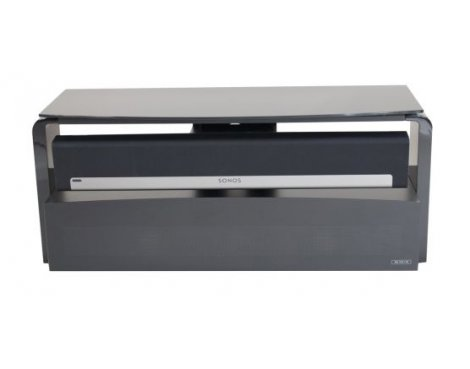 """Alphason AS9001 Black Sonos Playbar TV Stand For Up To 45\"""""""