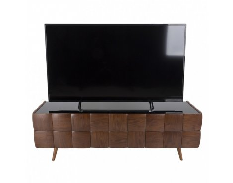 """AVF Delano Flat TV Stand For Up To 85\"""" - Walnut"""