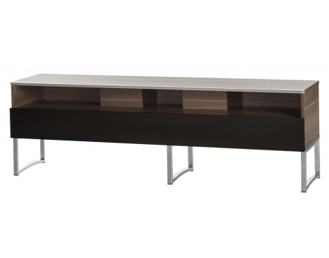 Off The Wall Select 1600 Walnut Half Door TV Stand for up to 80""