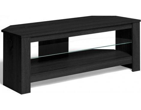 """Techlink Calibre+ TV Stand in Black Oak - For 55\"""" TVs"""