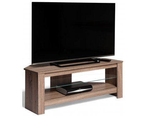 "Techlink Calibre+ TV Stand in Grey Oak - For 55\"" TVs"