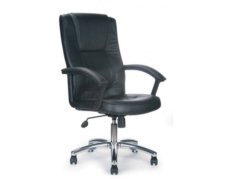 Luxury Leather Executive Chair with Recline