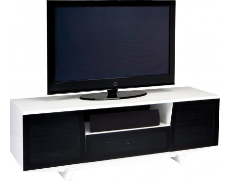 BDI MARINA 8729 Gloss White TV Cabinet